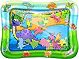 Tummy Time Baby Water Play Mat – Inflatable Infant Toy Mat for Infant, Baby, Toddler,...