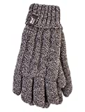HEAT HOLDERS - Femmes Thermique Heat Weaver Câble Tricoter Gants 2.3 tog en 7 Couleurs et 2 Tailles (M/L, Faon)