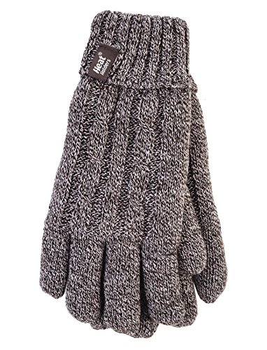 HEAT HOLDERS - Damen Thermisch Winter Handschuhe in 7 Farben (M/L, Hirschkalb)