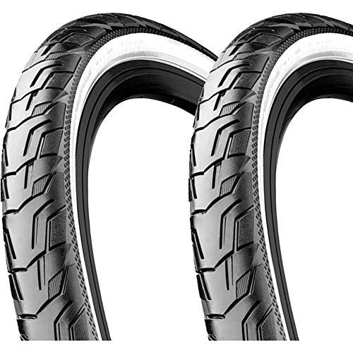 Continental Ride City Clincher Tyre 28x1.75 E-25 Reflex schwarz/weiß 2020 Fahrradreifen