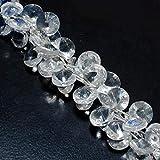 LOVEKUSH LKBEADS Ntaural Crystal Facetado Moneda/Puff Moneda/Cuentas redondas/Cuentas de monedas 14 mm facetadas sueltas Code-HIGH-40251