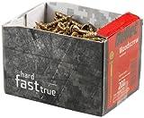 Bullet BULLET4.0x50 - Tornillo para madera (tamaño: 4.0x50mm, pack de 200)