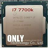 for i7 7700K Processor 4.20GHz 8MB Cache Quad Core Socket LGA 1151 Quad Core Desktop I7-7700KCPU