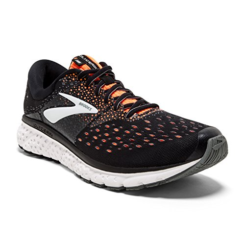 Brooks Glycerin 16, Zapatillas de Running para Hombre, Multicolor (Black/Orange/Grey 069), 41 EU
