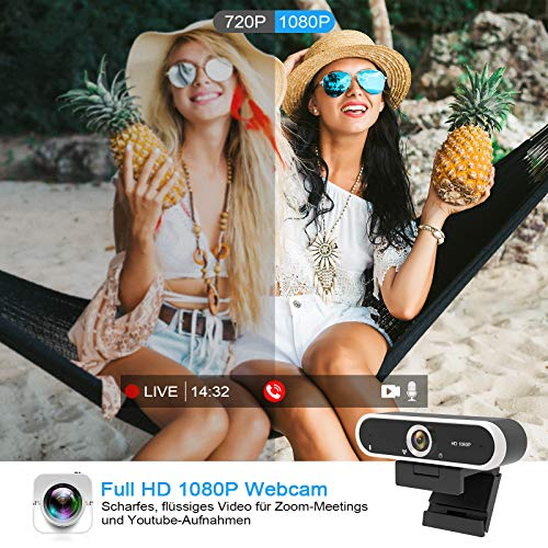 Niveoli PC Kamera 1080P (Full-HD)