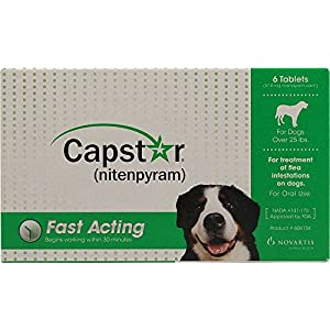 Capstar Flea Tablets for Dogs over 25lbs.