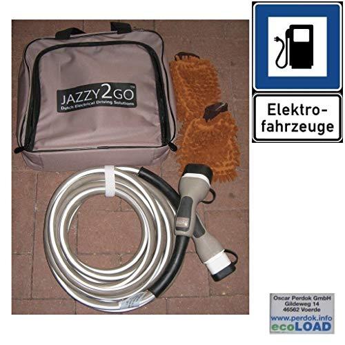 Cavo di ricarica per auto elettrica, tipo 2, monofase, 20 A, 5 m