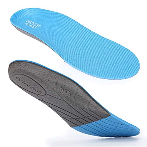 Arch Support Insoles for Women Men, Relieves Plantar Fasciitis, Orthotics Inserts, Relieve Flat Feet Foot Pain