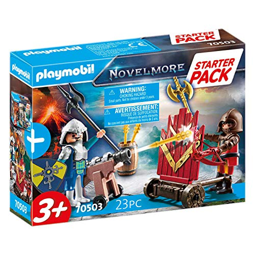 PLAYMOBIL Novelmore 70503 - Starter Pack Cavalieri di Novelmore, Dai 3 anni