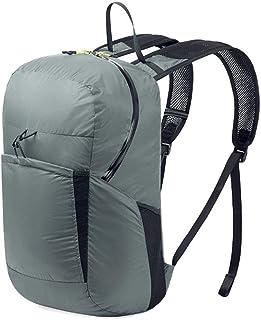 20L Plegable Mochila Ultra Ligera Senderismo Mochila Resistente al Agua Camping Montañismo Viajes Deportes al Aire Libre