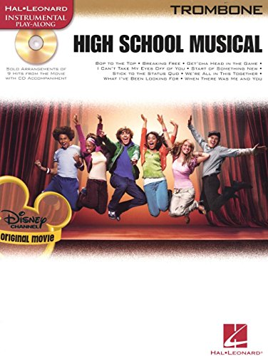 High School Musical – Selections (Trombone). Partitions, CD pour tombón