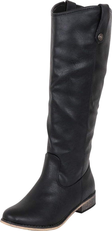 Cambridge Select Women's Western Riding Knee-High Cowboy Boot