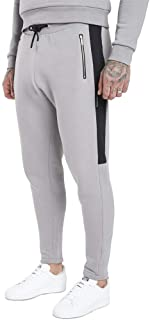 Insert Panel Tracksuit Pants Silver Grey