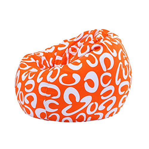 Sharplace Sac de Haricot sans Remplissage Pouf Coussin de Sol Siège Poire,Couverture de Meuble - Impression d'art
