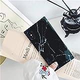 cocomii square marble iphone se 2020/iphone 8/iphone 7 case, slim thin glossy soft flexible tpu