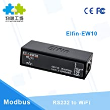 Serial Port RS232 to WiFi Module Wireless Networking Device Web Server Support TCP IP Telnet Modbus Protocol Elfin-EW10 Q214