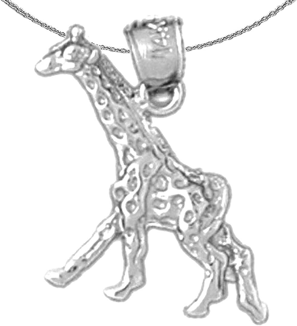 Jewels Obsession Gold Online limited product Giraffe 14K Necklace Same day shipping White