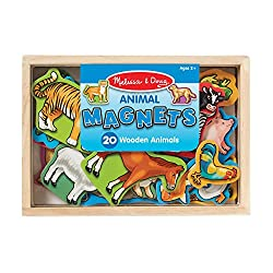 Melissa & Doug Wooden Animal Magnets