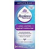 Replens Long-Lasting Vaginal Moisturizer, 14ct with reusable applicator