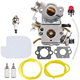 Hipa C1M-W26 Carburetor with 530057925 Air Filter Fuel Line Filter Tune-up Kit...