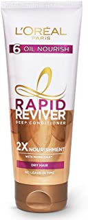 L'Oreal Paris Rapid Reviver 6 Oil Nourish Deep Conditioner, 180ml