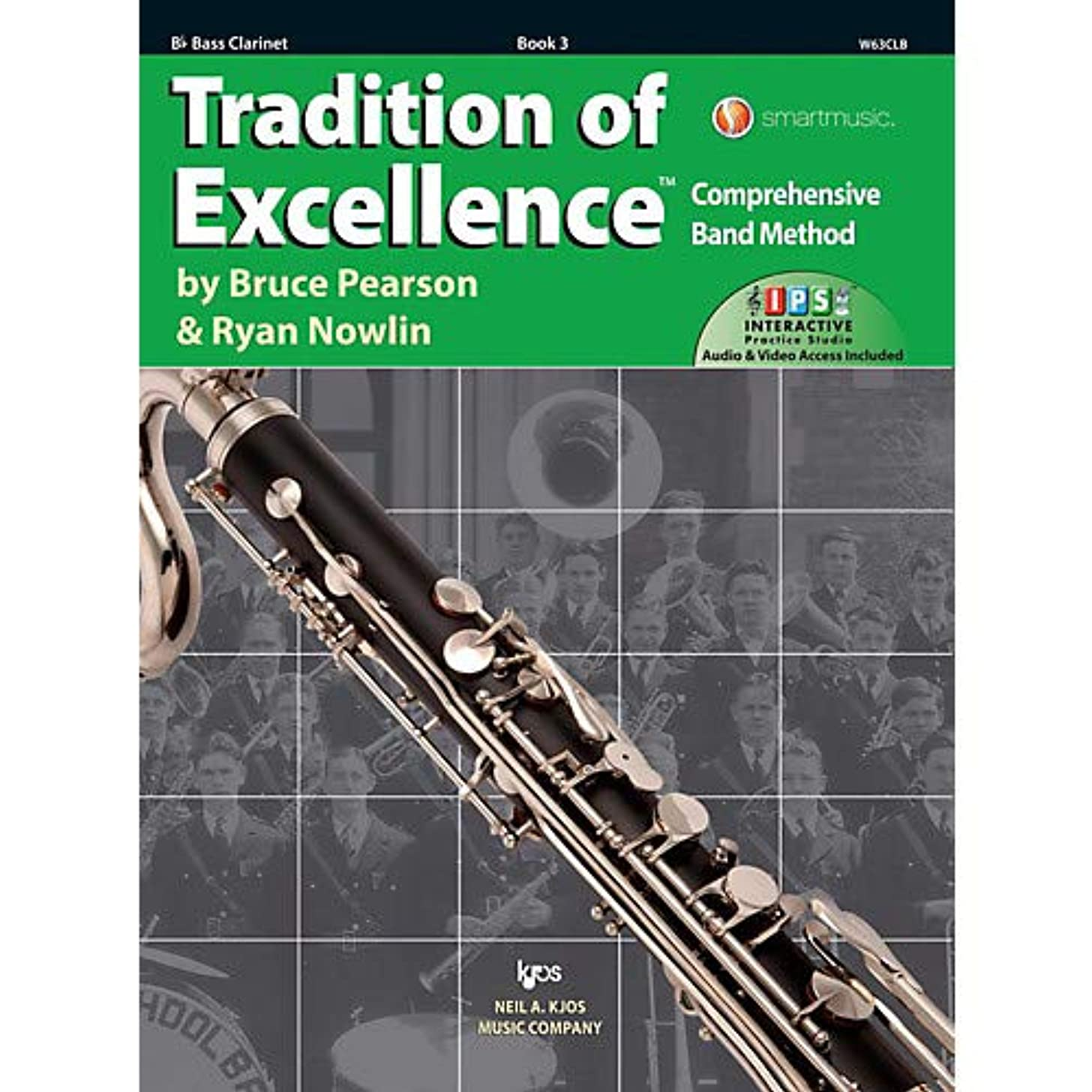 Tradition of Excellence Book 3 Bass clarinet Pack of 3