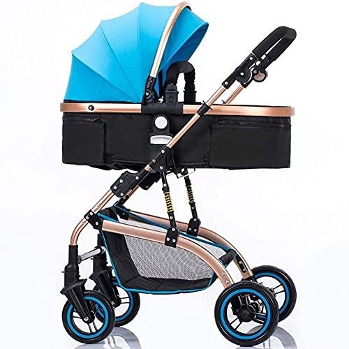 Cochecito de bebé ligero para recién nacido, portátil, ligero, cochecito de bebé, carro de bebé, puede sentarse, puede tumbarse para niños, carrito ligero plegable cochecitos de alto paisaje ajustable