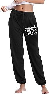 AucCen Womens Boston Strong City Skyline Jogger Lounge Sleep Sweatpants Pajamas