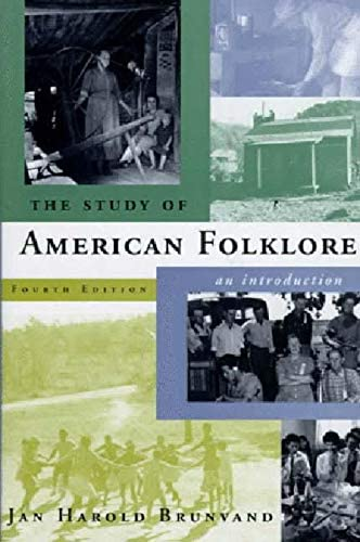 The Study of American Folklore An Introduction 4th Edition product image