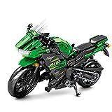 Technik motocicleta bloques de construcción, 729pcs Technic offroad modelo de motocicleta kit de construcción de juguetes Compatible con la tecnología Lego (001)