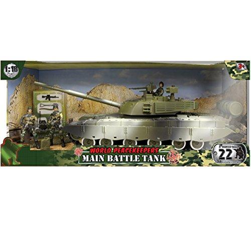 Peterkin - World Peacekeepers - Figurine de Guerre - Tank