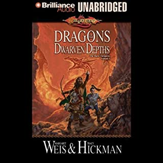 Dragons of the Dwarven Depths cover art