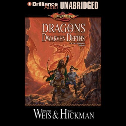 Dragons of the Dwarven Depths audiobook cover art