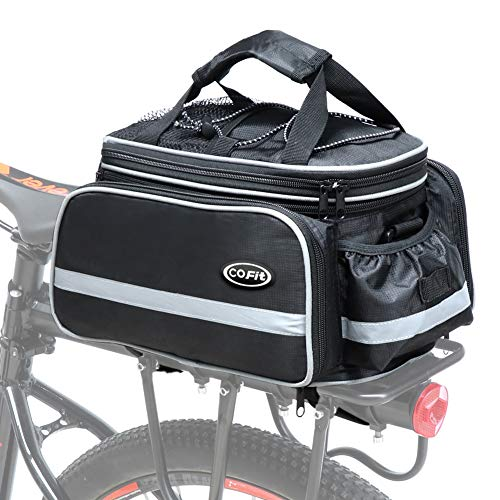 Best Review Of COFIT Bike Trunk Bag 25L/68L, Extensive Large Capacity Bicycle Rear Seat Pannier as C...