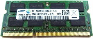 2GB Samsung 2GB PC3-10600 DDR3-1333MHz non-ECC Unbuffered CL9 204-Pin SoDimm Dual Rank Memory Module Mfr P/N M471B5673GB0-CH9