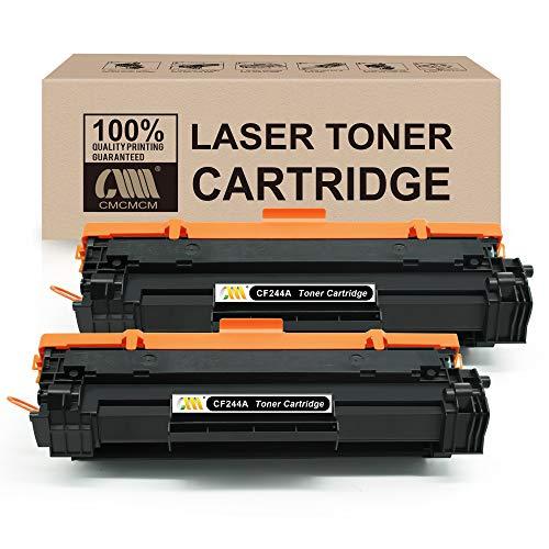 CMCMCM Cartucho de Tóner Compatible Reemplazo para HP CF244A 44A para HP Laserjet Pro MFP M28a MFP M28w M15a M15w Impresora...