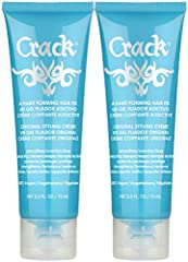 LEAVE-IN HAIR TREATMENT: Crack Hair Fix Styling Cream is a unique multi-tasking leave-in treatment that instantly and effectively transforms keratin-depleted, stressed, frizzy, curly hair for a sleek, smooth, healthy, shiny look. UNIQUE COMBINATION O...
