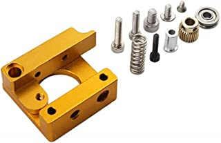 Robocraze MK8 Extruder Aluminium Block DIY Kit: Right Hand Type for 3D Printer Reprap   3D Printer Project (Pack of 1)