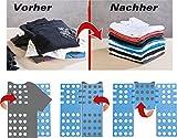 PEARL Wäschefaltbrett: Wäsche-Faltbrett für Hemden & Co