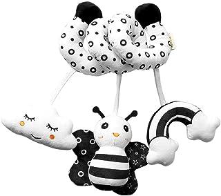 yotijay Baby Crib Toys Wrap Around Spiral Hanging Rattles Toy Stroller Toy Car Seat Crib Pram Animals Toy for Baby Toddler...