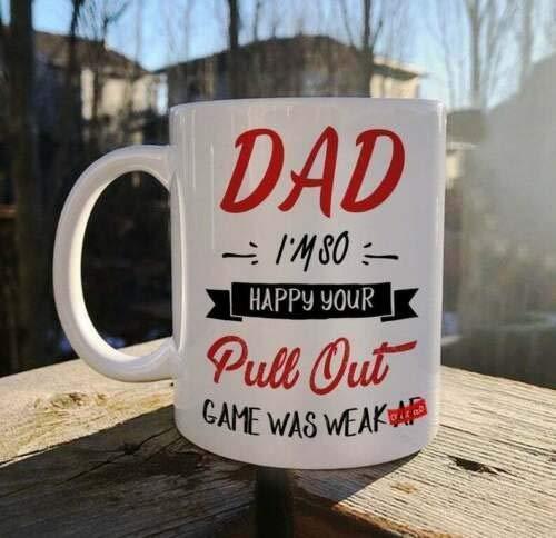 Regalo para papá Día del padre Papá Estoy tan feliz que tu...