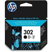 HP F6U66AE 302 Original Ink Cartridge Black, Pack of 1