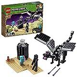 LEGO Minecraft La Battaglia dell'End, Giocattolo da Collezione, 21151