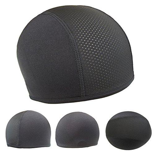 DONEMORE7 Helm-Iner-Cap, 3er-Pack, Unisex, schweißableitend, kühlend, schnelltrocknend, Anti-Schweiß für Sport, Radfahren, Motorradfahren, Reiten.