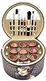 Gloss - caja de maquillaje, caja de regalo para mujeres - Maleta de Maquillaje - Vintage - 36 Pzs