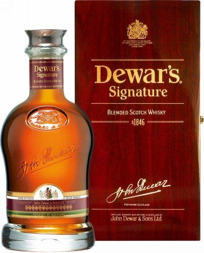 Dewar's Signature Blended Scotch Whisky, 1er Pack (1 x 700 ml)