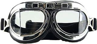 نظارات الهالوين - نظارات راي ستيم بانك من كاليدوسكوب مع عدسات زجاجية بألوان قوس قزح
