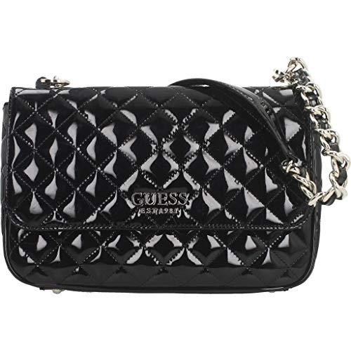 Guess Bolsos Mano MELISE Shoulder Bag para Mujer Negro 19x29x6,5 cm