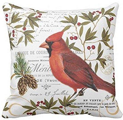 Babyssj Cardinal chanson Bird Taie d'oreiller couvertures 1818