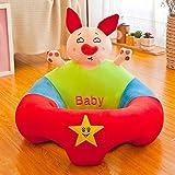 TINGTING Creative Baby Nursing Safe Sitting Chair Confortable Support Bébé Alimentation Canapé Sécurité Peluche Cadeau Jouets,Pig